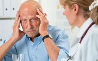 Причины головокружения в пожилом возрасте