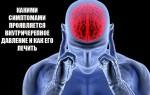 Симптомы и причины повышенного внутричерепного давления