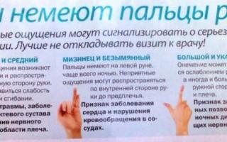 Почему немеет левая рука с пальцами и чем это может быть опасно