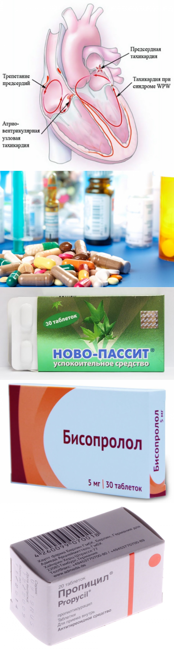 Какие таблетки от высокого пульса лучше и эффективнее?