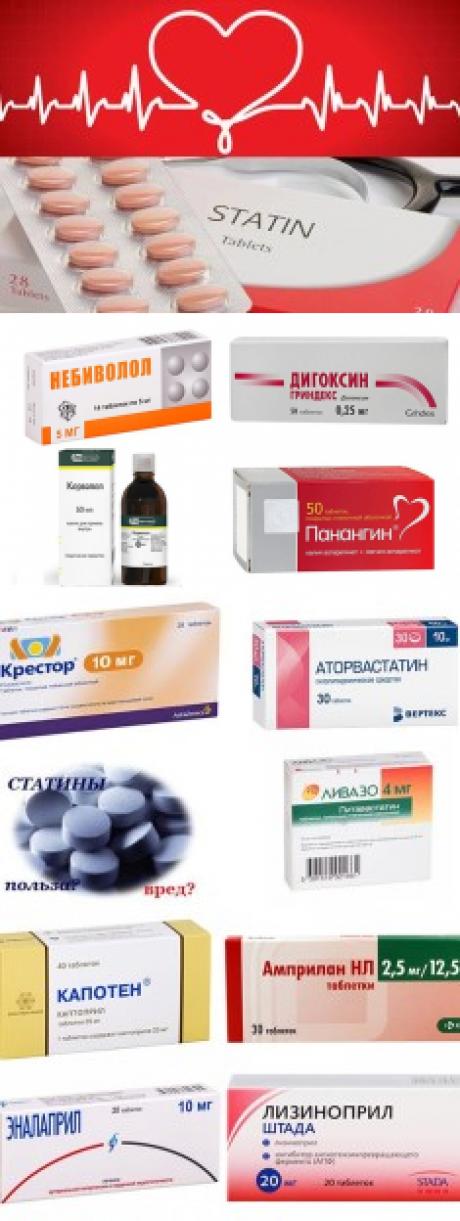 Таблетки от тахикардии и давления самые безопасные - лечение гипертонии