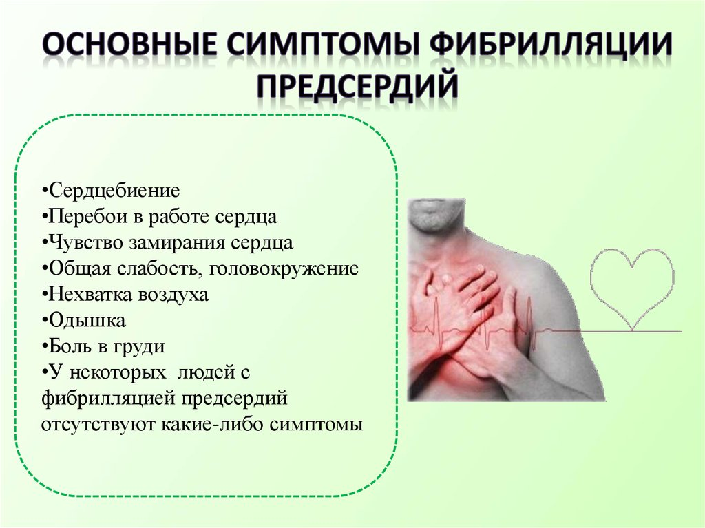 Все о мерцательной аритмии (фибрилляция предсердий): виды, симптомы и лечение